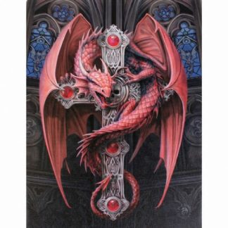 Gothic Guardian Canvas Picture