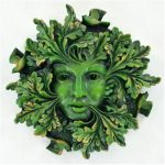 Green Spirit Green Woman Plaque