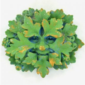 Green Hawthorn Green Man Plaque
