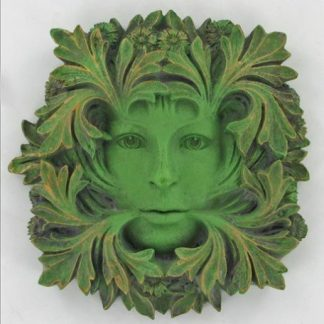 Primavera Green Woman Plaque