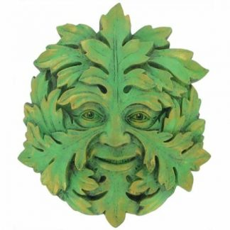 Green Mystic Green Man Plaque