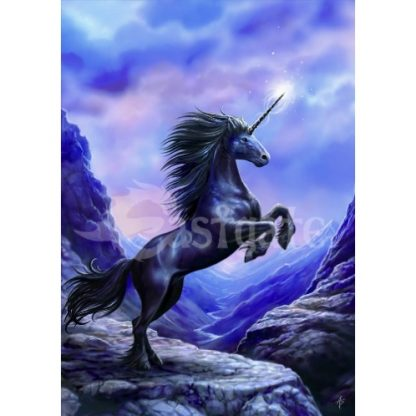 Black Unicorn Card