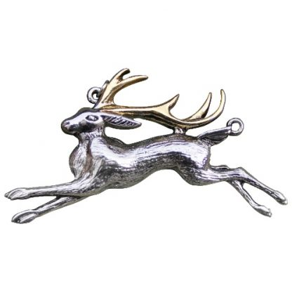 The Jackalope Pendant
