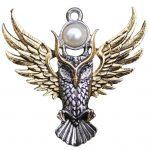 Owl of Athena Pendant