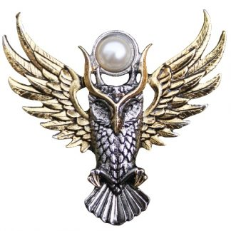 Owl of Athena Brooch
