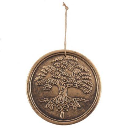 Bronze Terracotta Tree of Life Plaque