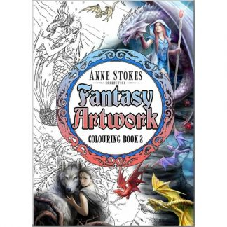 Anne Stokes Fantasy Artwork Colouring Book 2