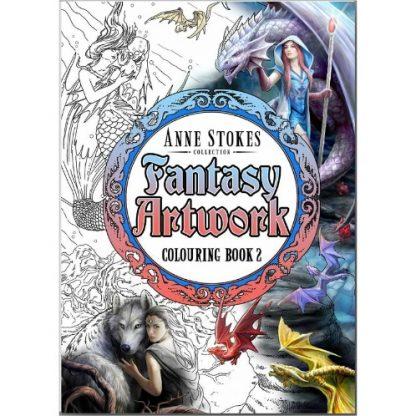 Anne Stokes Fantasy Artwork Colouring Book 2