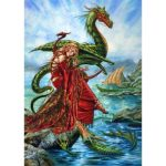 The Dragon Charmers Daughter Card