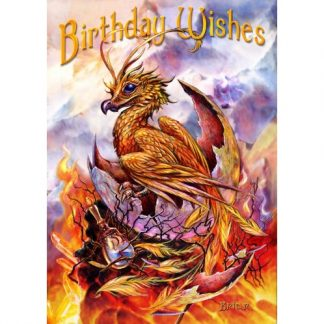 Birthday Phoenix Card