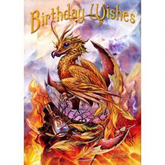 Birthday Phoenix Card