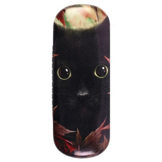 Autumn Cat Glasses Case