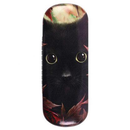 Autumn Cat Glasses Case
