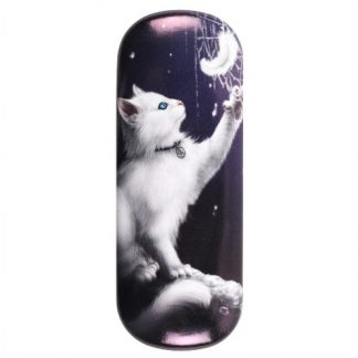 Snow Kitten Glasses Case