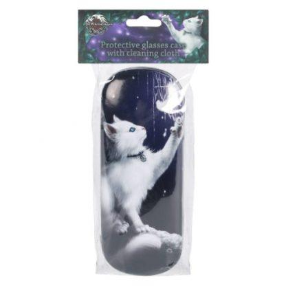 Snow Kitten Glasses Case packaging