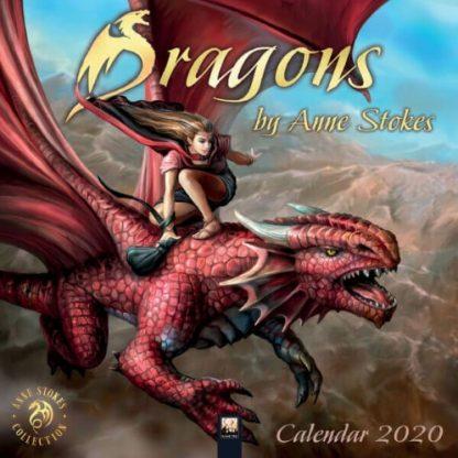 Dragons by Anne Stokes Calendar 2020