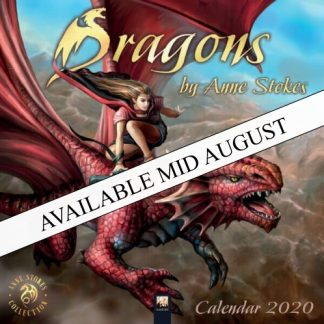 Dragons by Anne Stokes Calendar 2020 available mid August