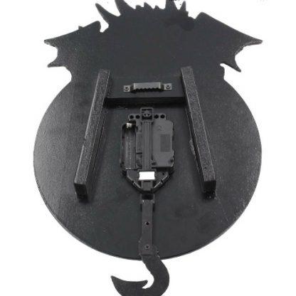 Dragon Tickin Clock back