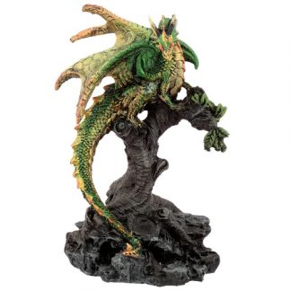 Green Forest Protector Dragon Figurine