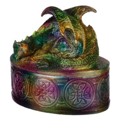 Rainbow Dragon Trinket Box