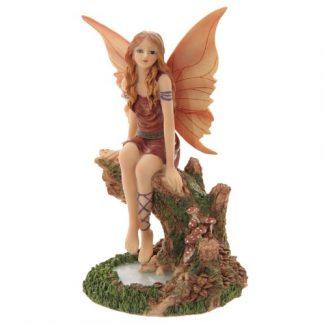 Autumn Daydream Fairy Figurine