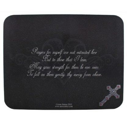 Gothic Prayer Spirit Board back