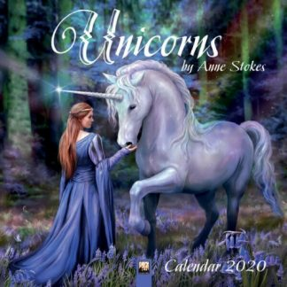 Unicorns by Anne Stokes Calendar 2020