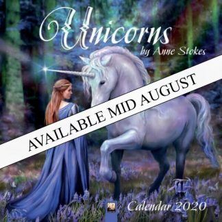Unicorns by Anne Stokes Calendar 2020 available mid August