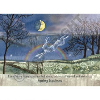 Luna Moon Hare at Spring Equinox