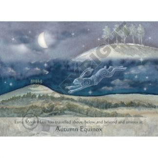 Luna Moon Hare at Autumn Equinox