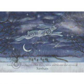 Luna Moon Hare at Samhain