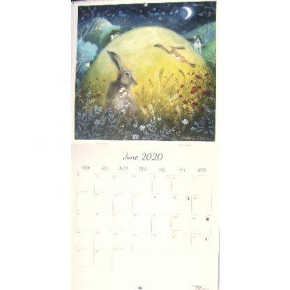 Amanda Clark Calendar 2020 June