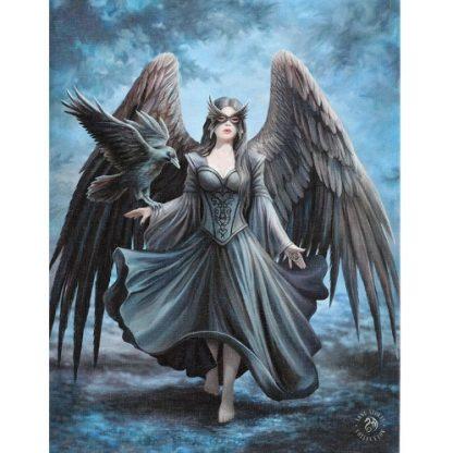 Raven Canvas Picture