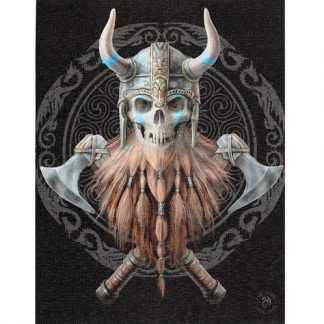 Viking Skull Canvas Picture
