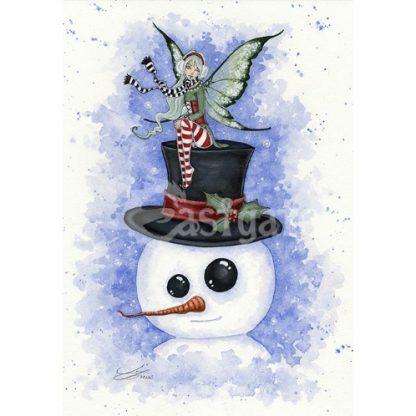 Frosty Friends Yule Card