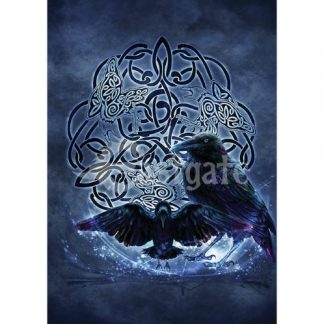 Celtic Raven Card
