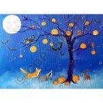 Halloween in the Wildwood Card