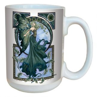 The Green Faerie Mug