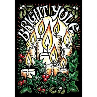 Bright Yule Card