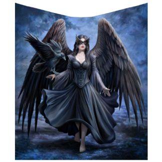Raven Throw