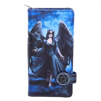 Raven Embossed Purse