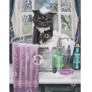 Bath Time Canvas Picture