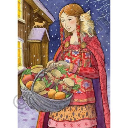 Solstice Gifts Yule Card