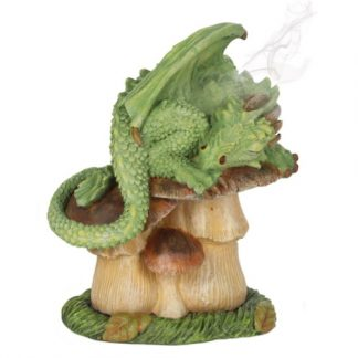 Green Dragon Incense Cone Burner