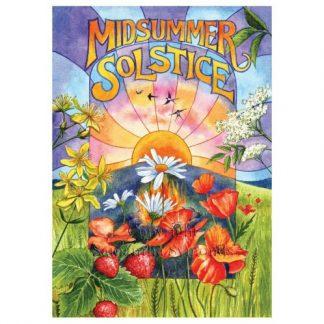 Midsummer Solstice Card