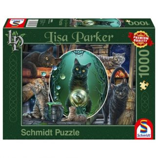 Mystical Cats Jigsaw Puzzle