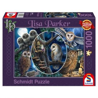 Mysterious Owls Jigsaw Puzzle