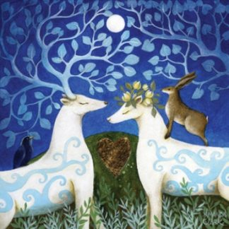 Handfasting in the Moonlight Card
