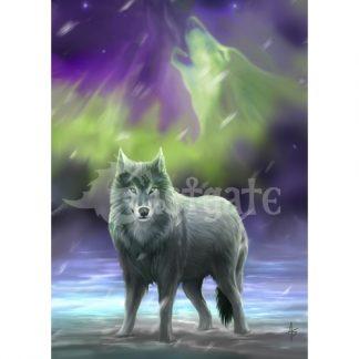 Aura Wolf Card