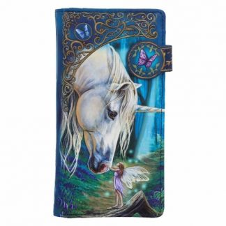 Fairy Whispers Embossed Purse